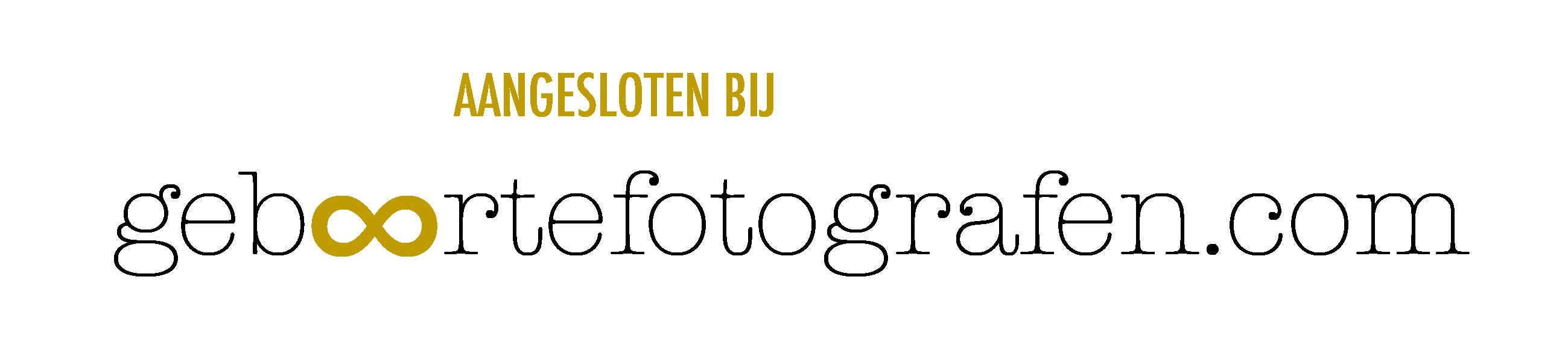 aangesloten bij geboortefotografen vakgroep logo